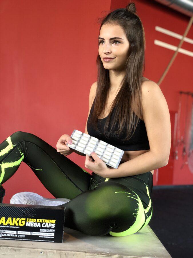 AAKG 1250 Extreme Olimp Sport Nutrition Mega Caps® 120 kapsulas