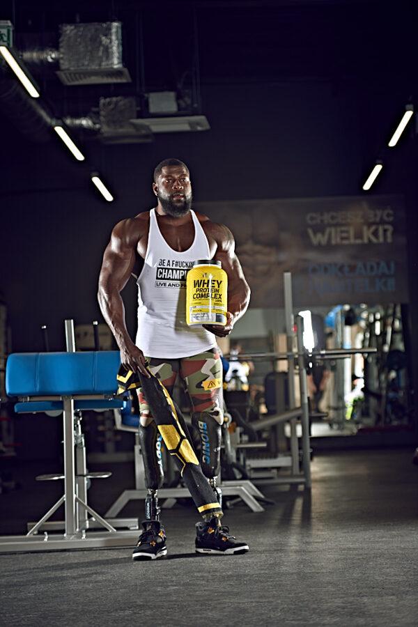 Proteīna pulveris Olimp Sport Nutrition Whey Protein Complex 100% cookies cream 700 g