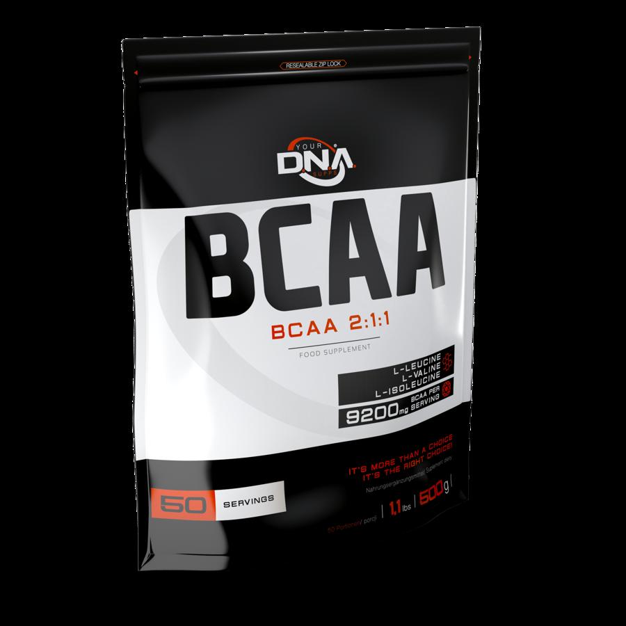 DNA BCAA 2:1:1 orange 500g
