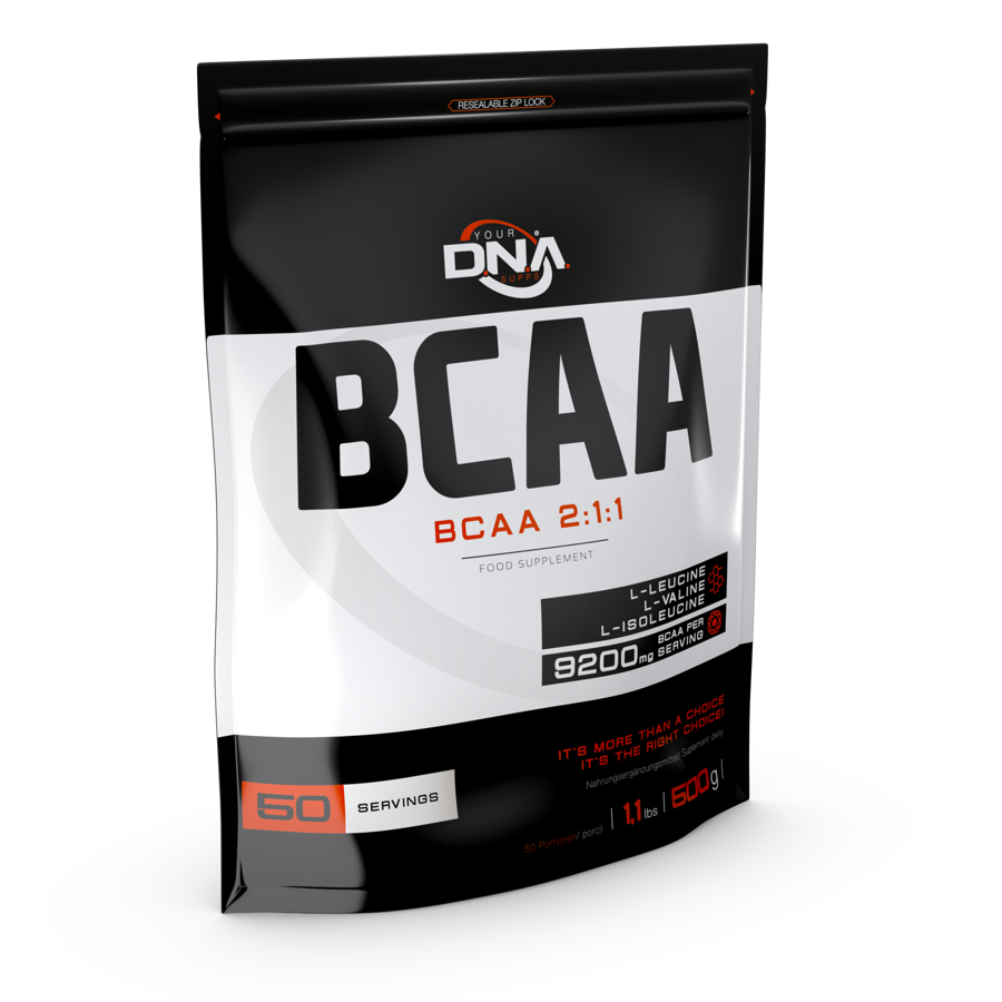 BCAA 2:1:1 DNA 500g lemon
