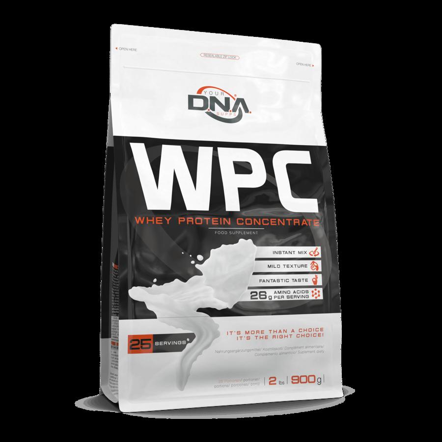 Proteīna pulveris DNA WPC toffi caramel 0.9 kg