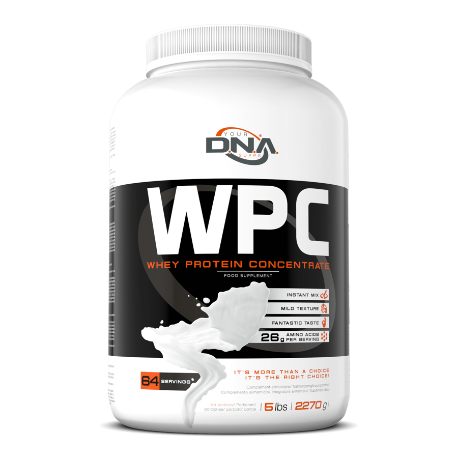 DNA WPC strawberry 2.27 kg