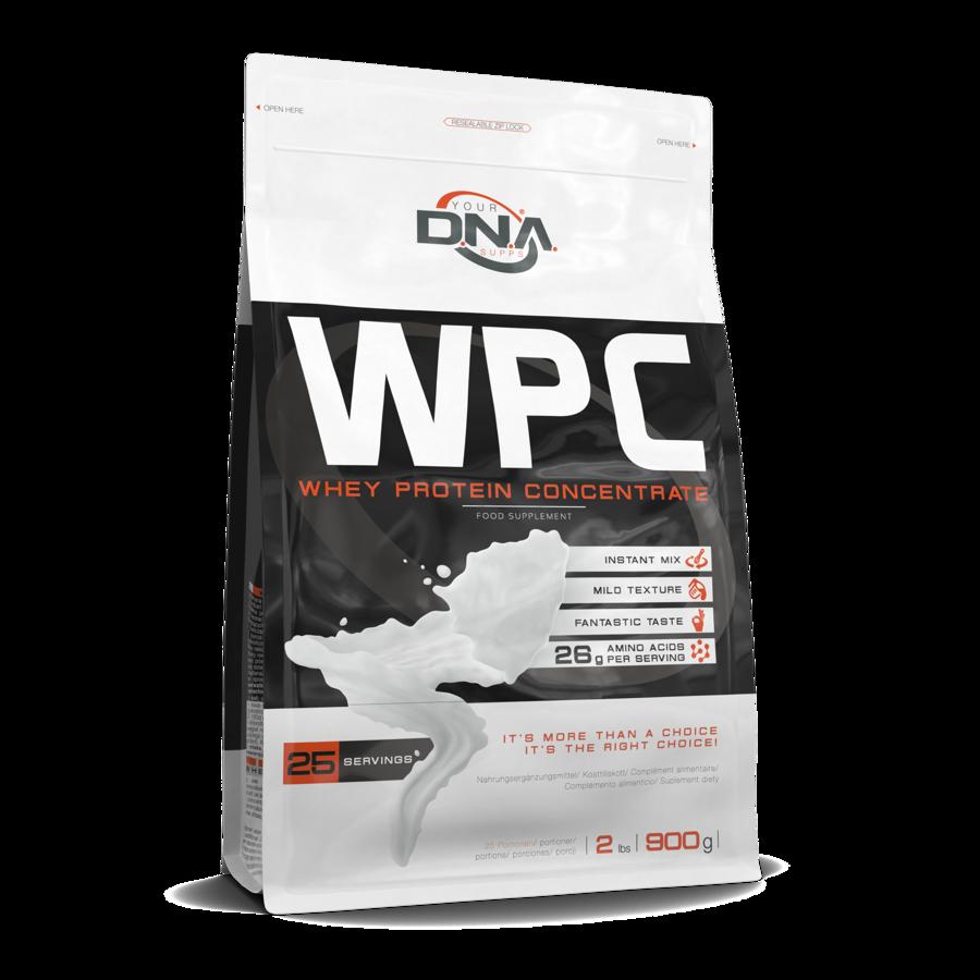 Proteīna pulveris DNA WPC chocolate 0.9 kg
