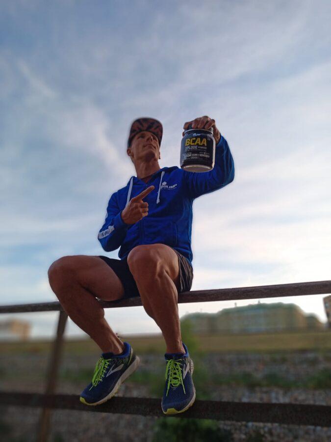 BCAA Xplode powder Olimp Sport Nutrition 500 g strawberry
