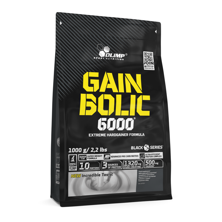 Olimp Sport Nutrition Gain Bolic 6000 strawberry 1 kg