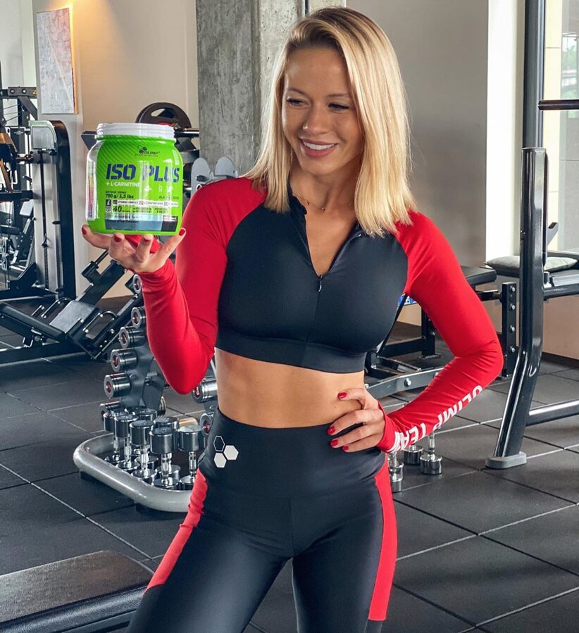 Olimp Sport Nutrition Iso Plus Powder 700 g orange