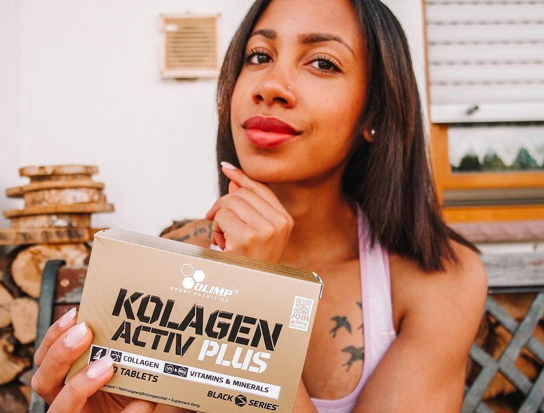 Kolagēns Kolagen Activ Plus Sport Edition Olimp Sport Nutrition 80 tabletes