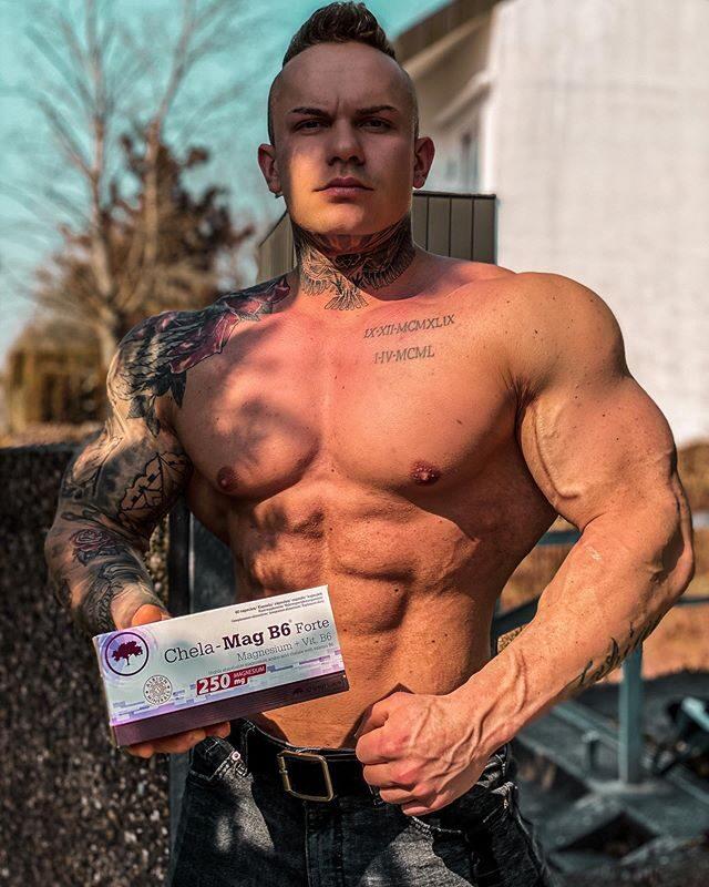 Magnijs CHELA-MAG B6 FORTE Olimp Sport Nutrition 60 kapsulas