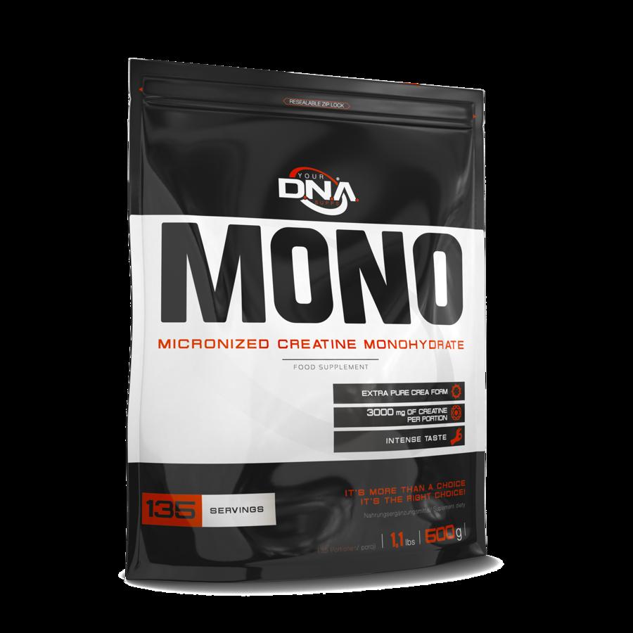 Kreatīns DNA MONO Micronised Creatine Monohydrate lemon 500 g