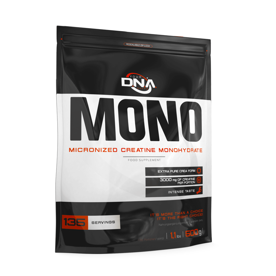 Kreatīns DNA MONO Micronised Creatine Monohydrate cherry 500 g