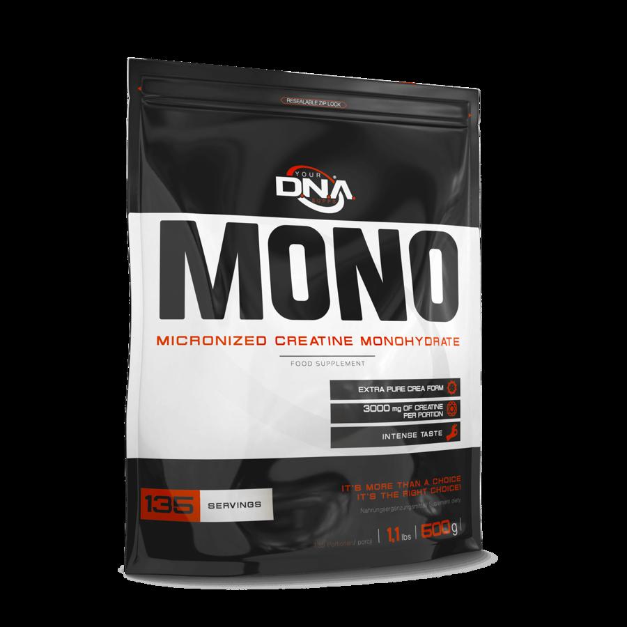 Kreatīns DNA MONO Micronised Creatine Monohydrate peach 500 g