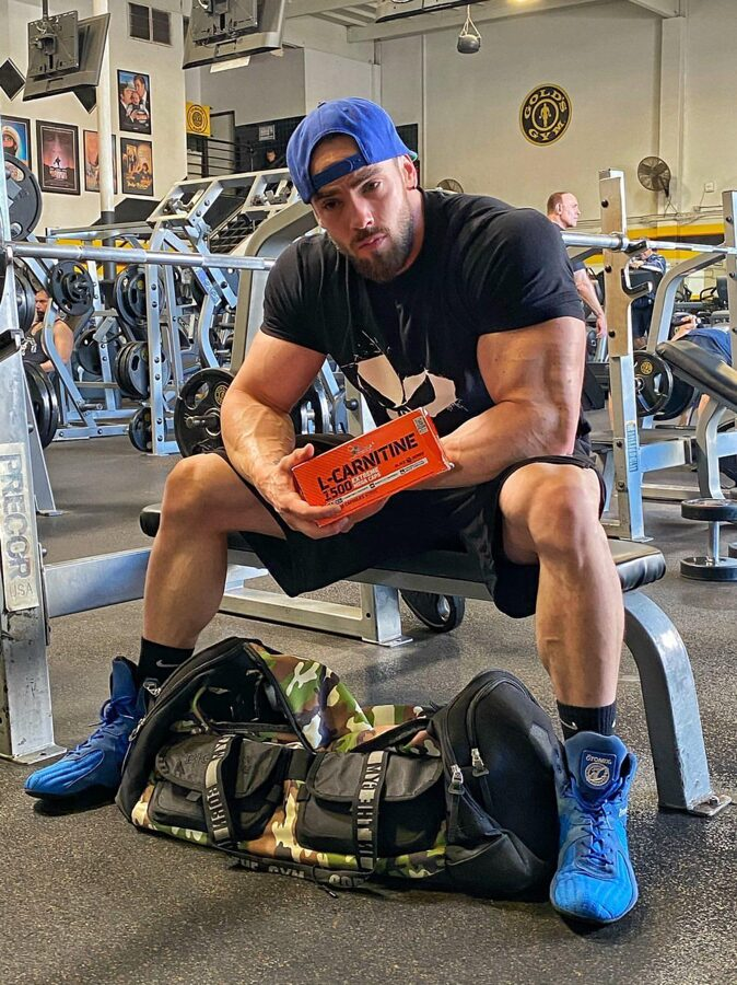 Svara samazināšanai L-carnitine 1500 Extreme Olimp Sport Nutrition Mega Caps® 120 kapsulas