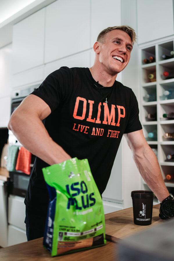 Olimp Sport Nutrition Iso Plus 1505 g lemon