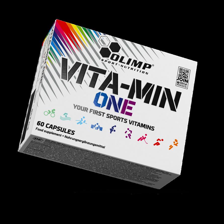 Multivitamīni, VITA-MIN ONE, Olimp Sport Nutrition, 60 kapsulas