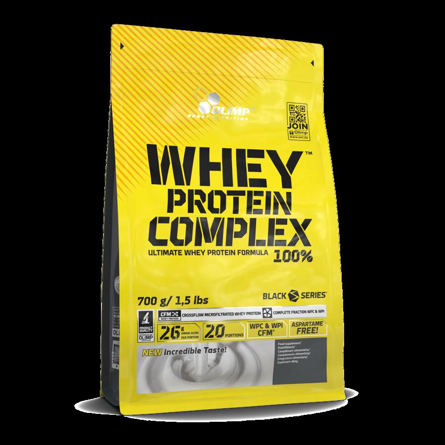 Proteīna pulveris Olimp Sport Nutrition Whey Protein Complex 100% strawberry 700 g