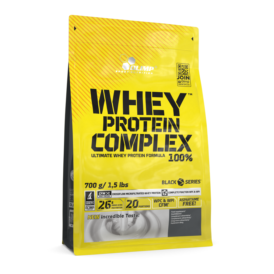 Proteīna pulveris Olimp Sport Nutrition Whey Protein Complex 100% double chocolate 700 g