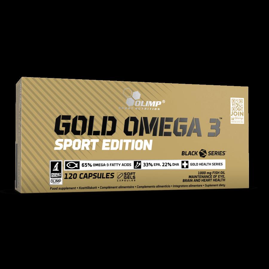Рыбий жир, Olimp Sport Nutrition Gold Omega 3 sport edition, 120 капсул
