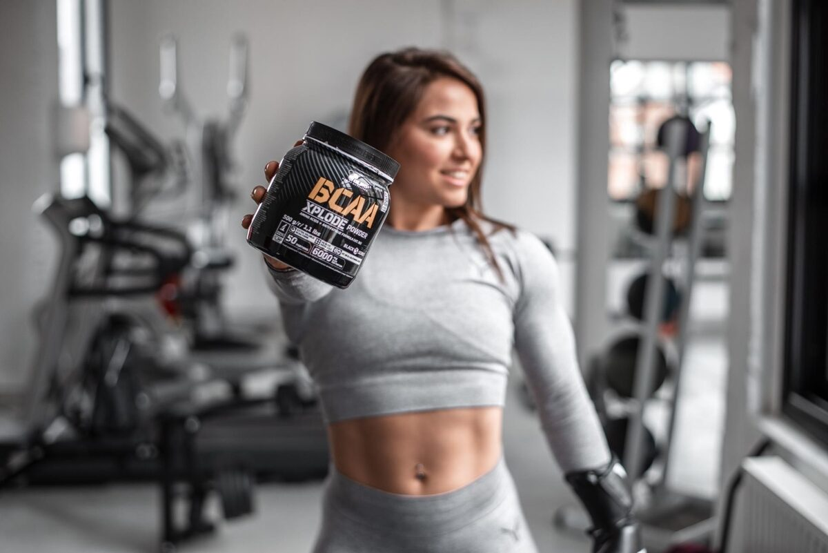 BCAA Xplode powder Olimp Sport Nutrition 500 g ice tea peach