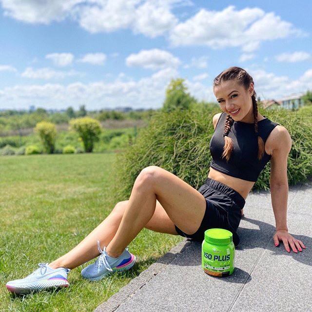 Izotonisks dzēriens Iso Plus powder Olimp Sport Nutrition 700g tropic blue
