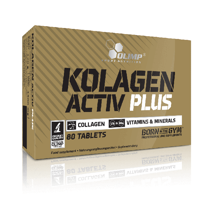 Olimp Sport Nutrition Kolagen Activ Plus Sport Edition 80 tabletes