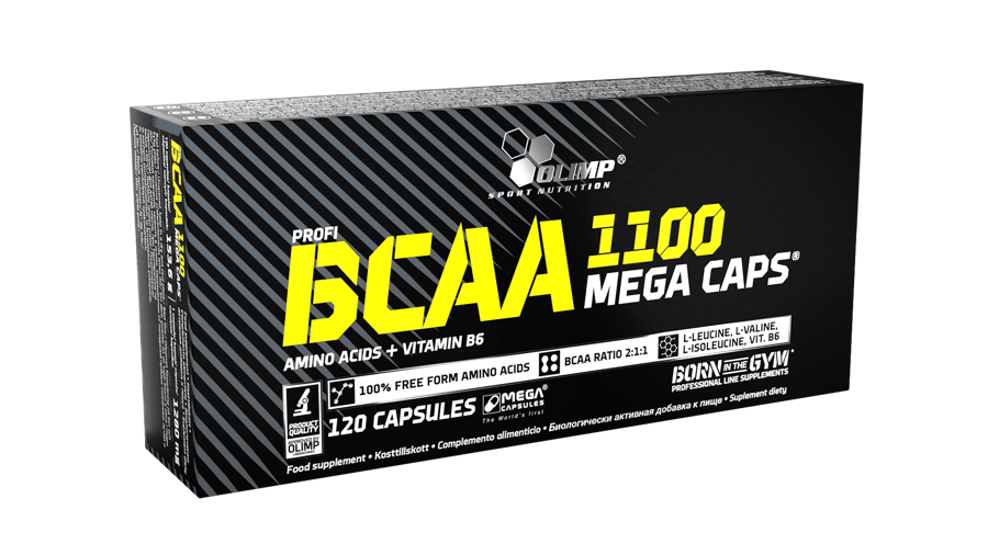 Olimp Sport Nutrition BCAA Mega Caps® 120 kapsulas