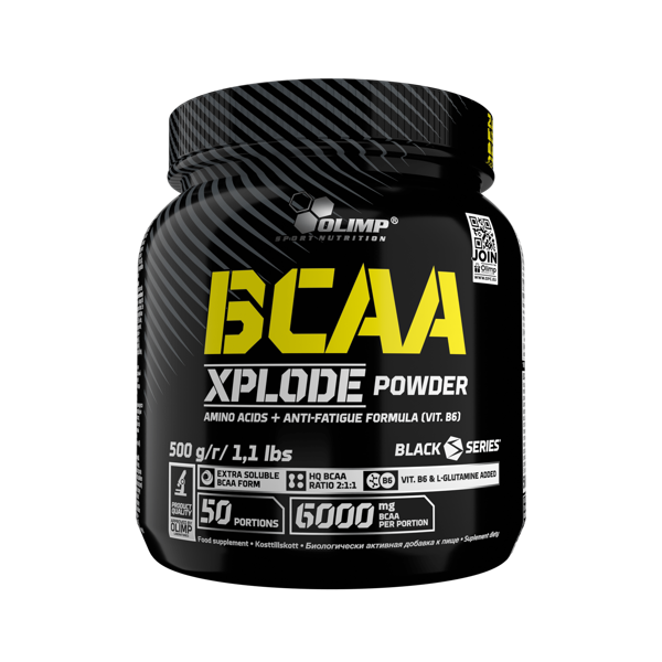 Olimp Sport Nutrition BCAA Xplode powder 500g fruit punch
