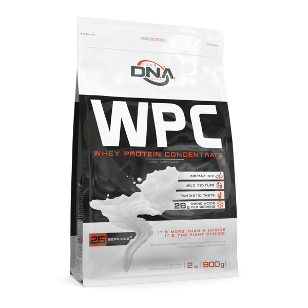 DNA WPC chocolate 0.9 kg