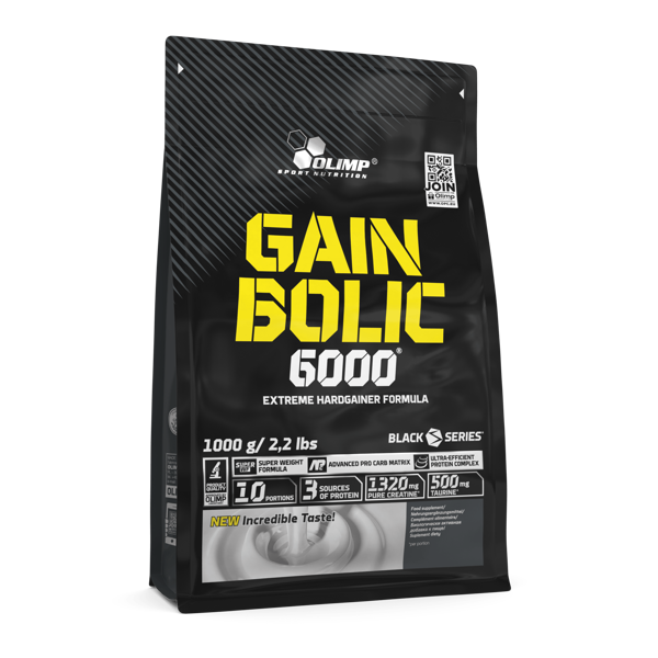 Olimp Sport Nutrition Gain Bolic 6000 cookies cream 1 kg