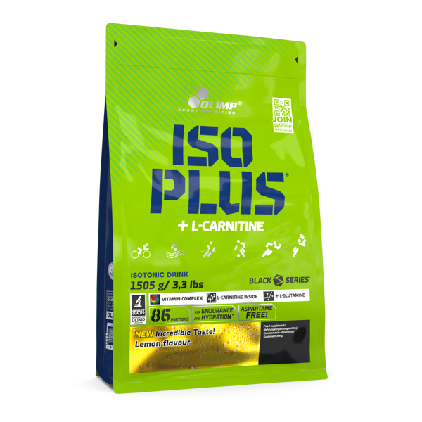 Izotonisks dzēriens Iso Plus powder Olimp Sport Nutrition 1505g lemon