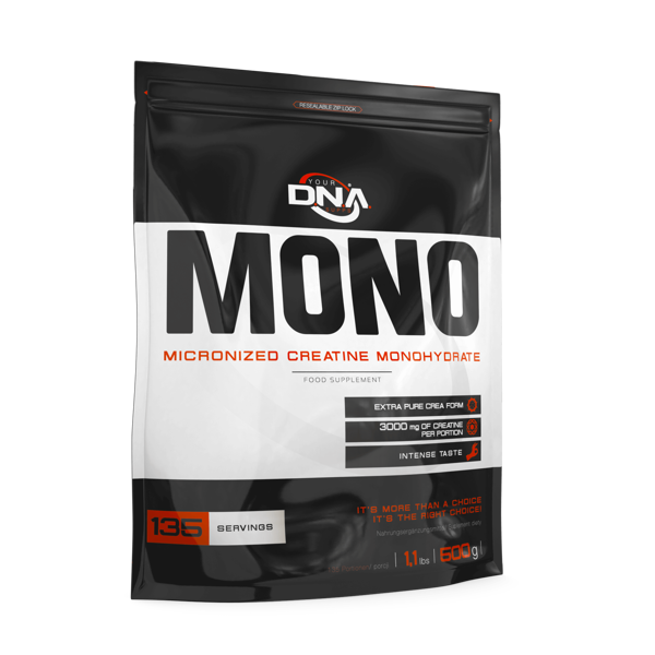 DNA MONO Micronised Creatine Monohydrate peach 500 g