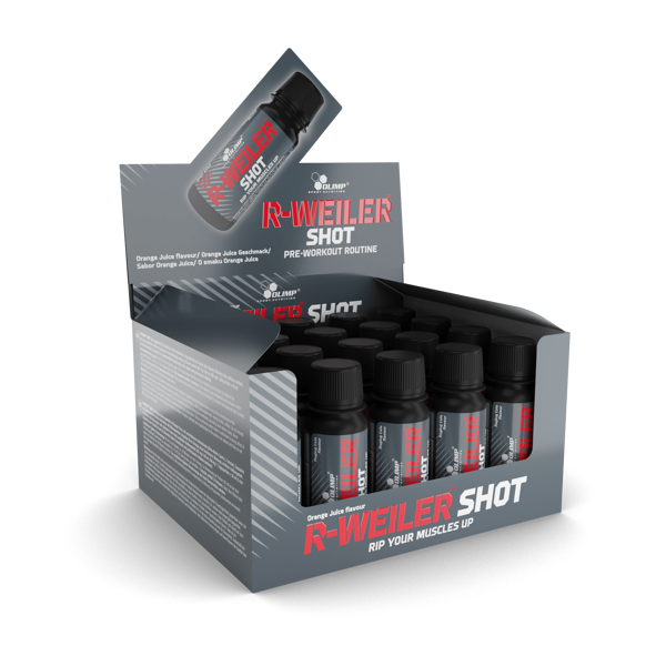 Olimp Sport Nutrition R-Weiler Shot box (20 x 60 ml) orange juice