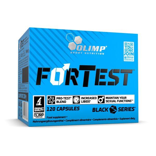 Testosterona atbalstam Olimp Sport Nutrition FORTEST, 120 kapsulas